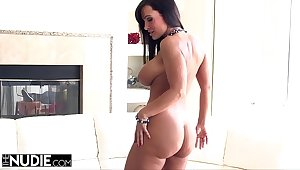 Lisa Ann Strips and Fucks Her Intern