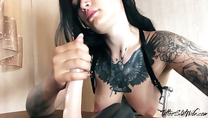 JOI Femdom Blowjob from Beautiful Mistress